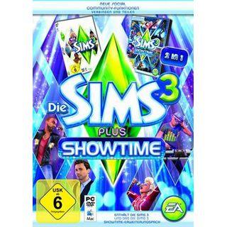 Die Sims 3 + Die Sims 3 - Showtime PC + MAC (PC)
