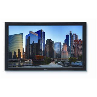 "70"" (177,80cm) NEC MultiSync P702 schwarz 1920x1080 BNC/1xHDMI 1.3/1xVGA/2xDVI/2xDP/1xComposite Video/S-Video"