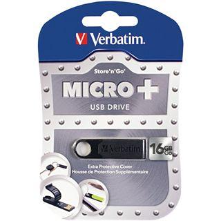 16 GB Verbatim Micro schwarz USB 2.0