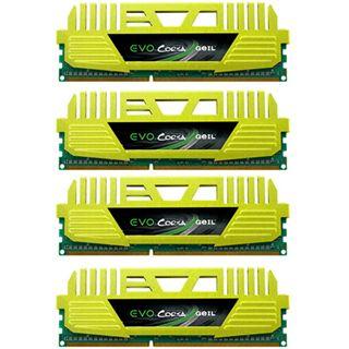 16GB GeIL EVO Corsa Quad Channel DDR3-2133 DIMM CL11 Quad Kit