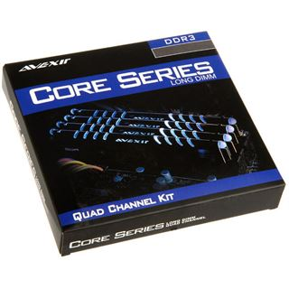 8GB Avexir Core Series blaue LED DDR3-2666 DIMM CL11 Dual Kit
