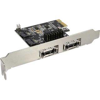 InLine Schnittstellenkarte SATA 6Gb PCI 2+2