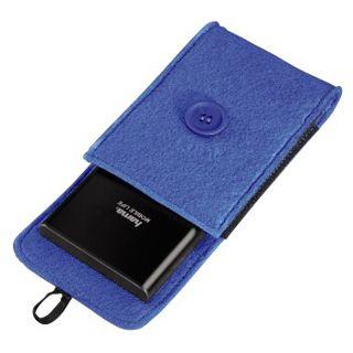 """Hama Felt Blau Tasche für 2,5"""" Festplatten (00095544)"""