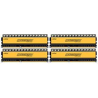 16GB Crucial Ballistix DDR3-1600 DIMM CL8 Quad Kit