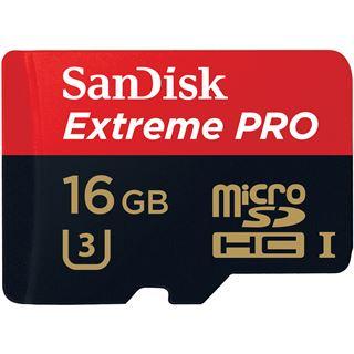 16 GB SanDisk Extreme Pro microSDHC Class 10 Retail