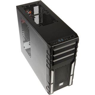 Xigmatek Asgard 381 Midi Tower ohne Netzteil schwarz/weiss