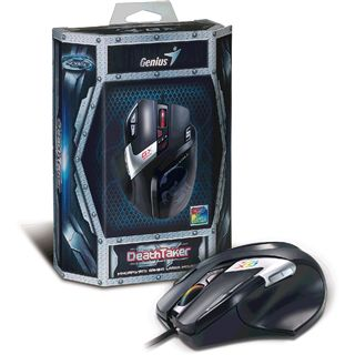 Genius DeathTaker MMO/RTS professional gaming mouse USB schwarz