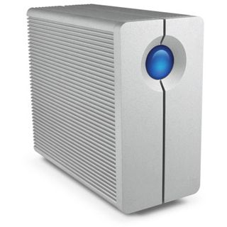"""4000GB LaCie 2big Quadra 9000316 3.5"""" (8.9cm) USB 2.0/USB 3.0/Firewire silber Alu"""