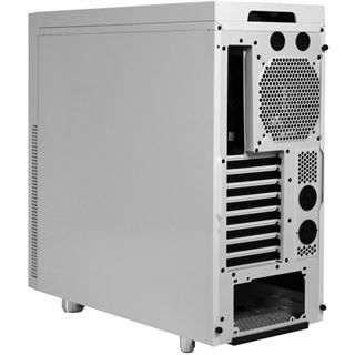 Nanoxia Deep Silence 1 gedämmt Midi Tower ohne Netzteil weiss