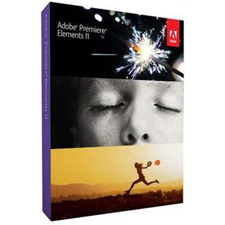 Adobe Premiere Elements 11.0 32/64 Bit Deutsch Grafik Vollversion PC/Mac (DVD)