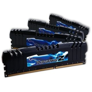 32GB G.Skill RipJawsZ DDR3-1866 DIMM CL9 Quad Kit