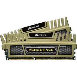 16GB Corsair Vengeance grün DDR3-1600 DIMM CL9 Dual Kit