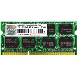 8GB Transcend for iMac DDR3-1333 SO-DIMM CL9 Single
