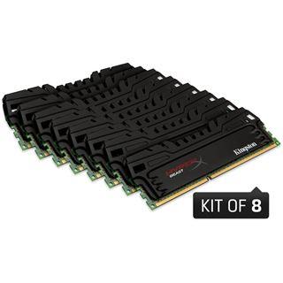 64GB Kingston HyperX Beast DDR3-2133 DIMM CL11 Octa Kit