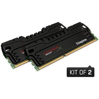 16GB HyperX Beast DDR3-1600 DIMM CL9 Dual Kit