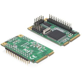 Delock 95232 3 Port PCIe Mini Card retail