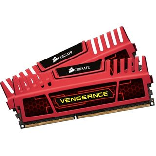 16GB Corsair Vengeance LP Red DDR3-1600 DIMM CL10 Dual Kit