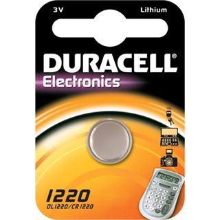 Duracell Electronics CR1220 Lithium Knopfzellen Batterie 3.0 V 1er Pack