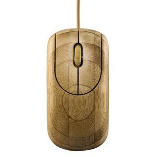 Hama Optische Maus USB bambus (kabelgebunden)