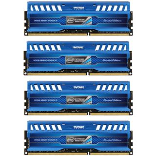 16GB Patriot Intel Extreme Masters Series DDR3-1600 DIMM CL9 Quad Kit