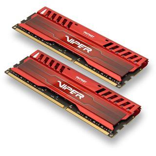 8GB Patriot Viper 3 Series Venom Red DDR3-1866 DIMM CL9 Dual Kit