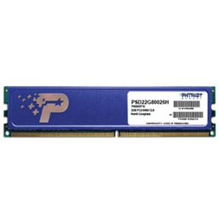 2GB Patriot Signature Series HS DDR2-800 DIMM CL6 Single