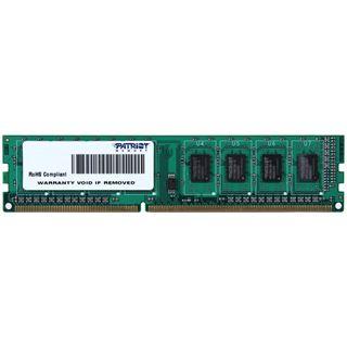 4GB Patriot Signature Line DDR3-1600 DIMM CL11 Single
