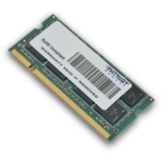 8GB Patriot Signature DDR2-800 SO-DIMM CL6 Dual Kit