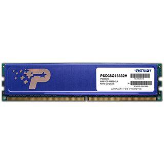 8GB Patriot Signature Line HS DDR3-1333 DIMM CL9 Dual Kit