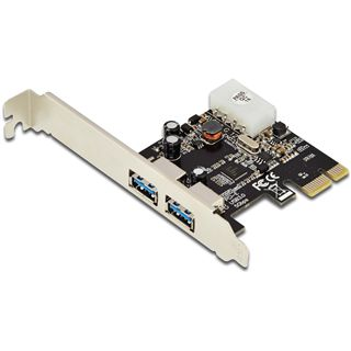 Digitus DS-30220-4 2 Port PCIe 2.0 x1 inkl. Low Profile Slotblech retail