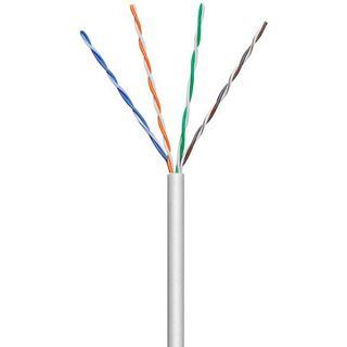 100.00m Good Connections Cat. 6 Patchkabel U/UTP auf Grau PVC