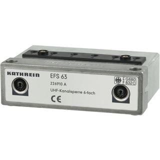 Kathrein EFS63 UKW-Sperre 6-Kanal-Sperre abstimmbar