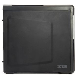 Zalman Z12 Midi Tower ohne Netzteil schwarz