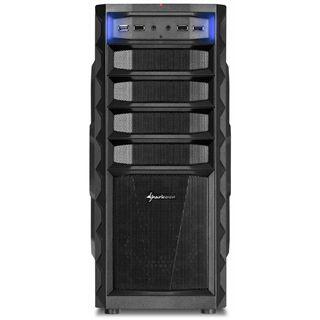 Sharkoon REX3 Economy Midi Tower ohne Netzteil schwarz