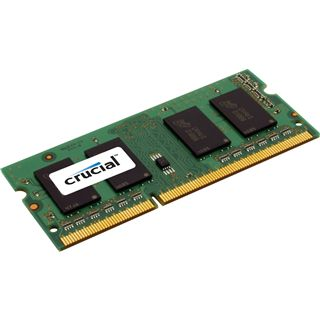 4GB Crucial Value DDR3-1333 SO-DIMM CL9 Single