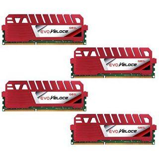32GB GeIL EVO Veloce DDR3-1600 DIMM CL10 Quad Kit