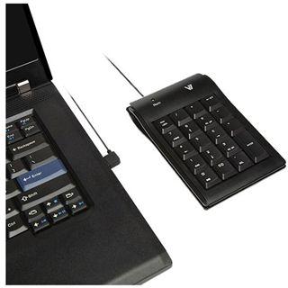 V7 USB Numeric Keypad für PC (KP0N1-7E0P)