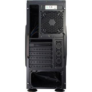 Inter-Tech SY-608 Midi Tower ohne Netzteil schwarz