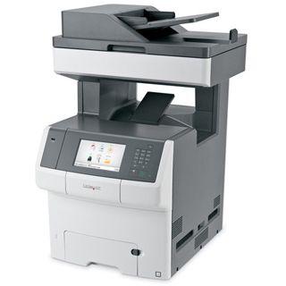 Lexmark X748de Farblaser Drucken/Scannen/Kopieren/Faxen LAN/USB 2.0