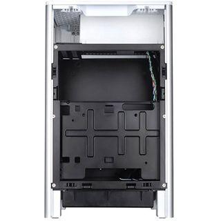 Silverstone Fortress FT03 Mini-ITX ohne Netzteil silber