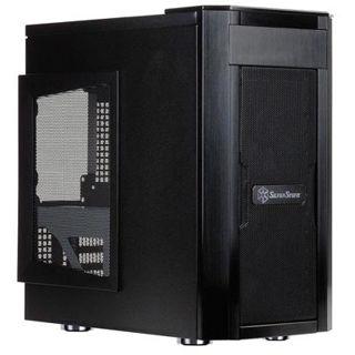 Silverstone Sugo SG03-F USB 3.0 Midi Tower ohne Netzteil schwarz