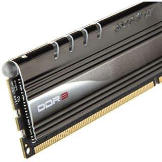 16GB Avexir Core Series rote LED DDR3-1600 DIMM CL9 Quad Kit