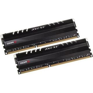 8GB Avexir Core Series weiße LED DDR3-1600 DIMM CL9 Dual Kit