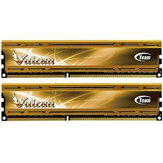 8GB TeamGroup Vulcan Series rot DDR3-1600 DIMM CL9 Dual Kit