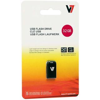 32 GB V7 Nano schwarz USB 2.0