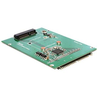 "Delock Konverter IDE 44 Pin > mSATA mit 2.5"" Rahmen 1 Port IDE 44 Pin retail"