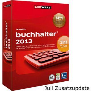 Lexware Buchhalter 2013 32/64 Bit Deutsch Office Update PC (DVD)