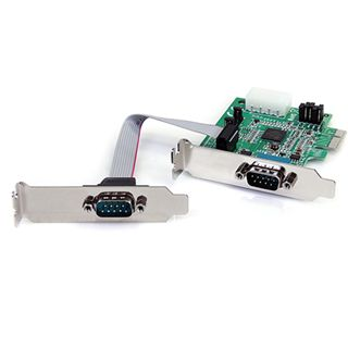 Startech PEX2S952LP 2 Port PCIe x1 Low Profile/zweites Slotblech retail