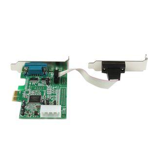 Startech PEX2S553LP 2 Port PCIe x1 zweites Slotblech retail