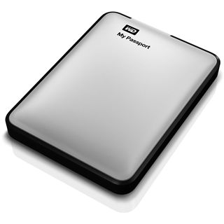 "1000GB WD MyPassport for Mac WDBLUZ0010BSL-EESN 2.5"" (6.4cm) USB 3. silber"